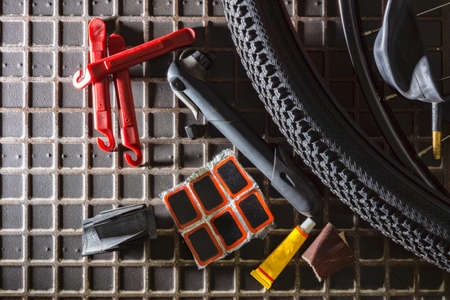 Tools for gluing bicycle cameras