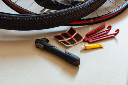 Tools for sealing leaky bicycle chambers