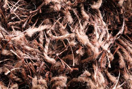 Woolen fibers, woolen fibers, texture, textile Stock Photo