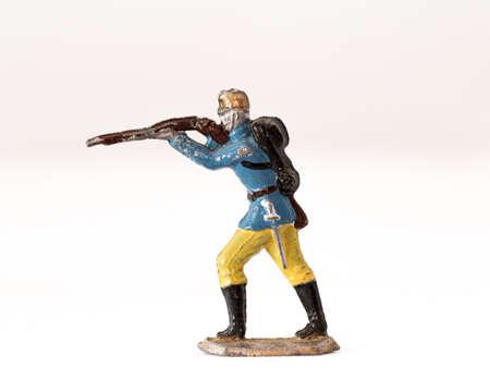 Oude tinnen soldaten