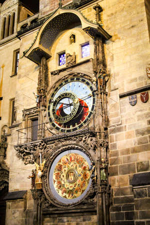 Tower clock in Prague