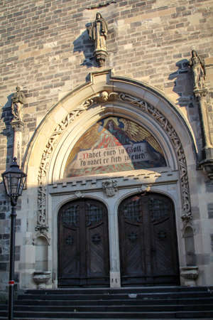 details of a church