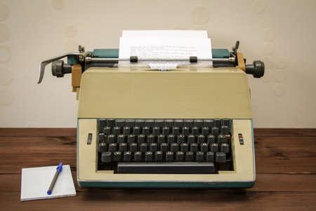 Details of an old mechanical typewriter Reklamní fotografie