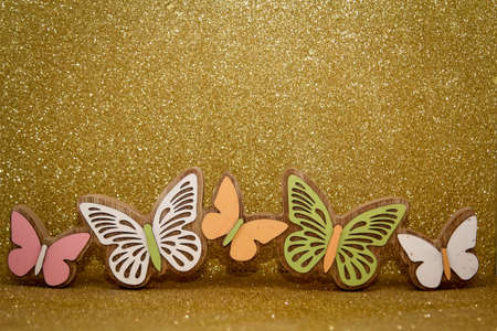 decoration with butterflys