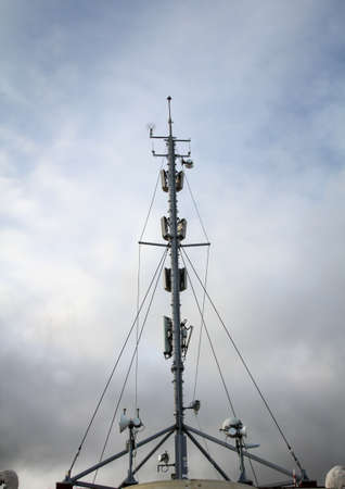 A radio mast for mobile phones and other