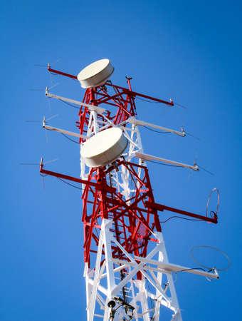 Radio tower, radio system for military, nautical and civil purposes