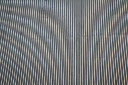 View of a roof from corrugated iron, texture from corrugated iron