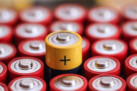 Lots of batteries in a heap