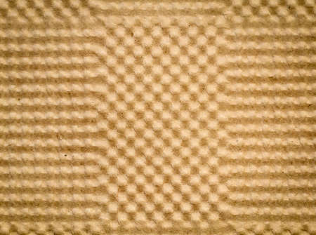 Honeycomb structure made of paper as a texture