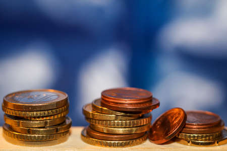 Banknotes, coins for future investments