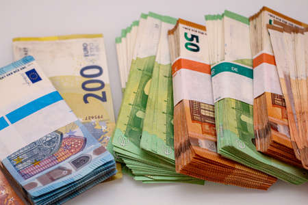 Banknotes and coins are the basis for a successful business.