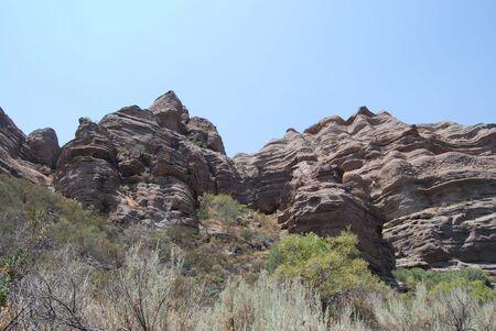 岩の形成 写真素材