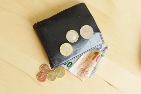 Money on a desk