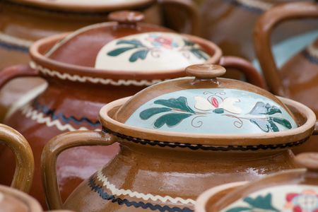 tradional pottery from Romania Stock Photo - 5503971