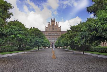 chernivtsi: Landmark in Chernivtsi, Ukraine, University (the former Metropolitans residence) Stock Photo