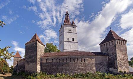 ufortyfikować: Kościół obronny w Siedmiogrodzie, w Rumunii, Harman, Brasov okolicy