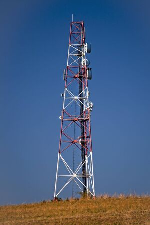 GSM phone network telecommunication tower