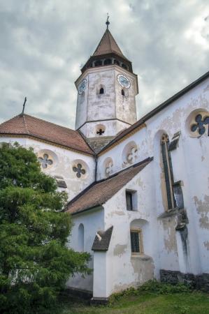 Fortified church in Transylvania, Romania, Prejmer  Tartlau , Brasov area Stock Photo - 15820277