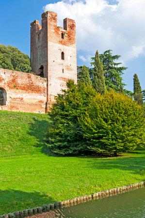 veneto: City walls of Castelfranco Veneto, Treviso, Italy