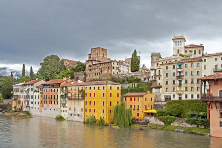 grappa: Bassano del Grappa - Town in northern Italy (Veneto) Editorial