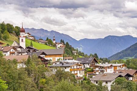alto adige: Village in Italian Alps (Alto Adige  South Tirol) - Telves  Obertelfes