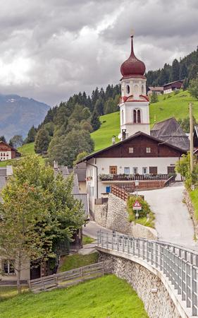 tirol: Village in Italian Alps (Alto Adige  South Tirol) - Telves  Obertelfes