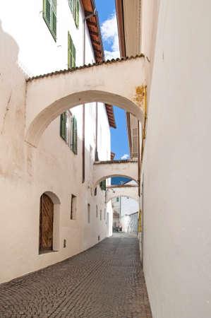 meran: Old street in Meran  Merano, Italy