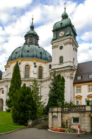 ettal: Ettal, baroque monastery in Bavaria, Germany