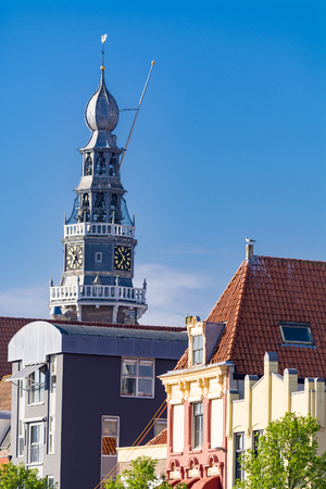 Church tower in Vlissingen, Netherlands Stock Photo