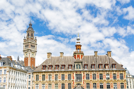 Grand Place (main square) Lille, city in French Flanders, France (Nord Department)
