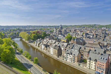 Namur, city in Belgium by river Sambre and Meuse, Walloon region