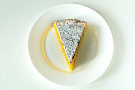 Orange dessert cake, recipe from Sicily, Italy Banco de Imagens