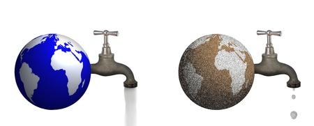 Environmental Concept Symbol Isolated on White Background Stock Photo