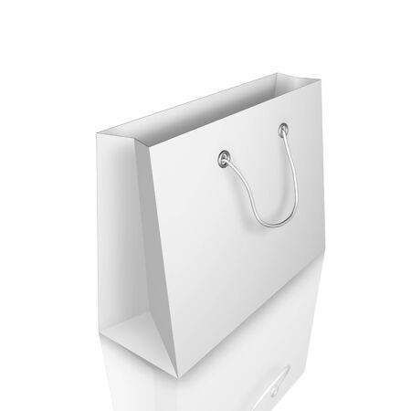 3D Illustraion de sacs isolée sur fond blanc Banque d'images - 8530922