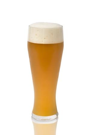 Bavarian Oktoberfest beer glass isolated on white