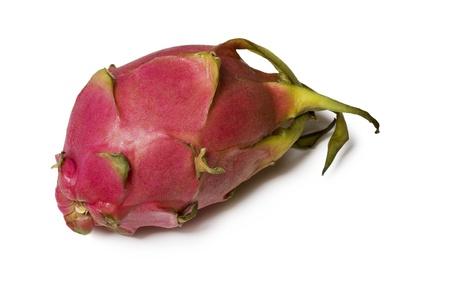 Fresh and colorful pitahaya fruit solated on white background Stock Photo