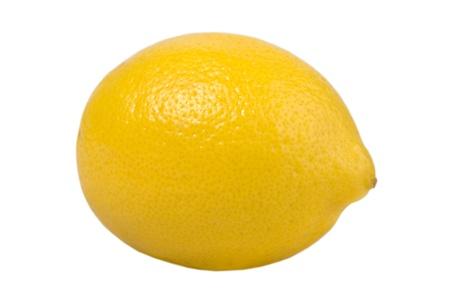 Fresh Lemon Fruit Isolated on White Background Stock Photo - 8709149