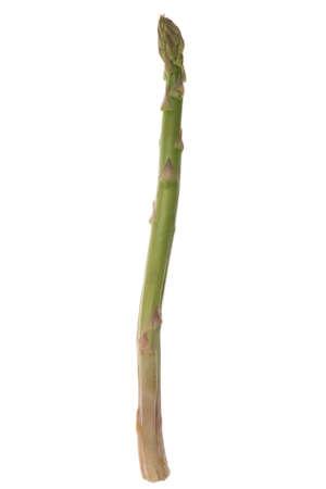 Fresh Asparagus Vegetables Isolated on White Background photo