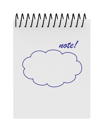 Ordinateur portable d'affaires portable isolé sur fond blanc Banque d'images - 45798645