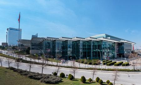 Ankara / Turkey - March 21 2020: ATO Congressium, Ankara Ticaret Odası Congressium is one of the biggest halls of Ankara, operated by ATO.