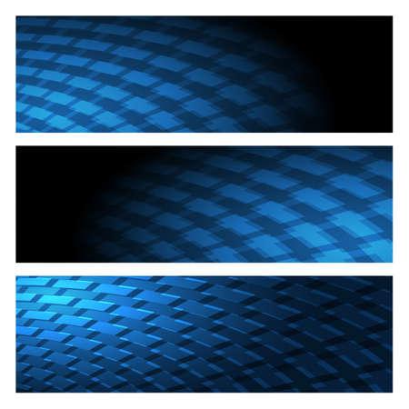 ingeniero industrial: Industrial conjunto Fondo abstracto dibujado en la paleta de color azul oscuro.