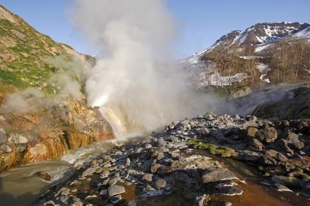 kamchatka: La valle dei geyser, geyser in Kamchatka