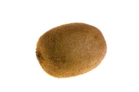 Kiwi on white background Stock Photo