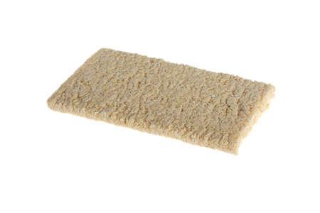 Crispbread on white background Stock Photo