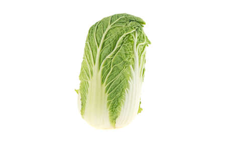 Chinese cabbage isolated on white background Stok Fotoğraf