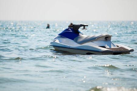 jet ski on the sea Standard-Bild