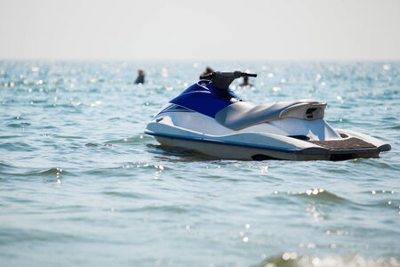 jet ski on the sea Banque d'images