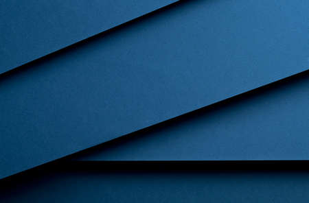 paper material: Material design dark blue background. Photo.