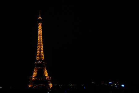 Far Away view of the Eiffel tower