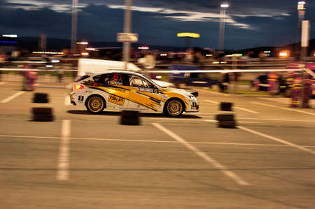 cluj: Image from special rally stage - Cluj Napoca